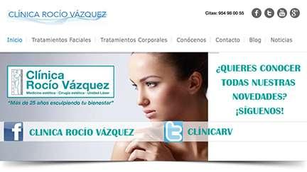 Clínica estética Rocío Vázquez