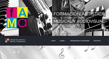 Web Academia Música FAMA 18